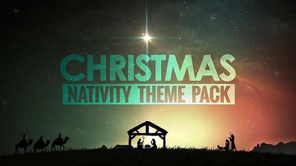 christmas nativity church media