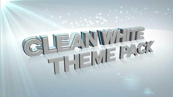 church media clean white