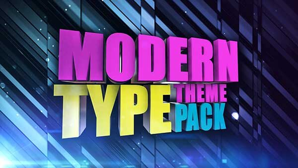 church media modern type