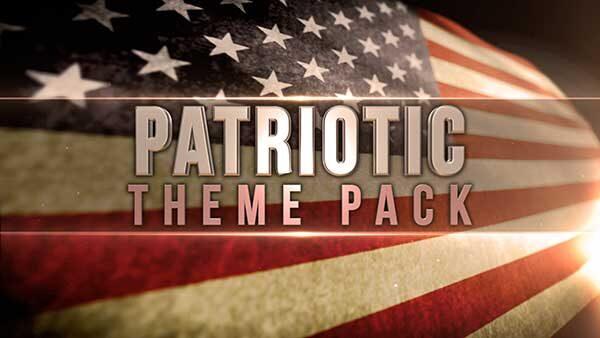 church media patriotic