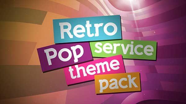 church media retro pop