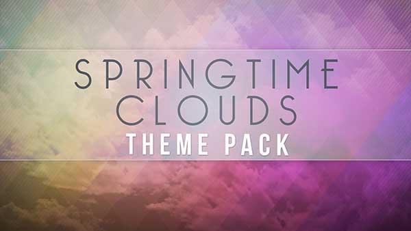 church media spring clouds