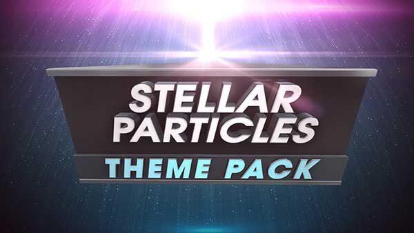 church media stellar particles