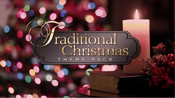 church media traditional christmas