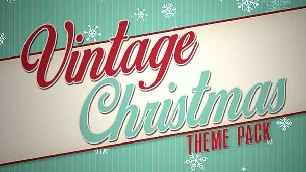 church media vintage christmas