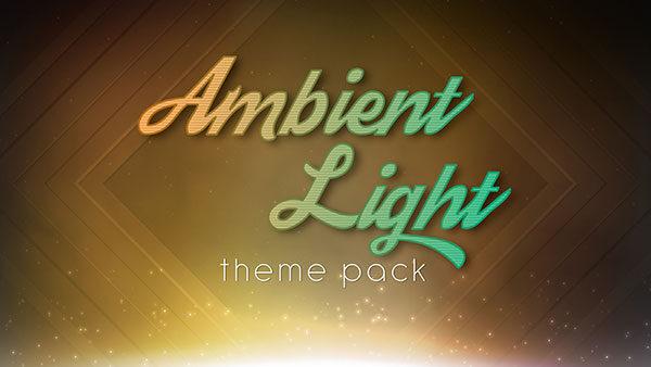 church media ambient light