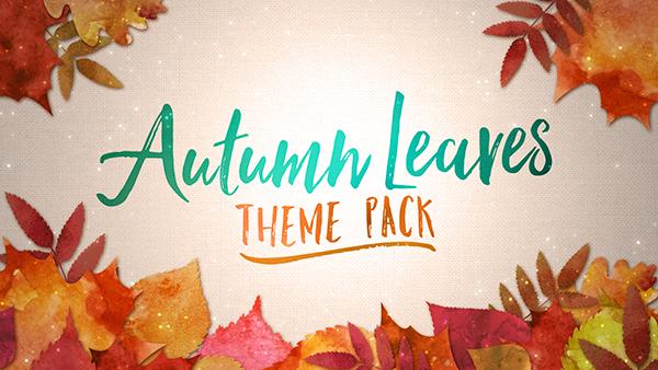 fall church media autumn leaves