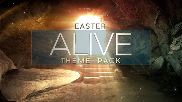 easter church media alive