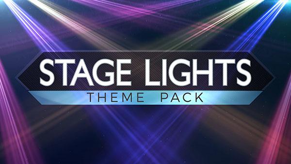 church media stage lights
