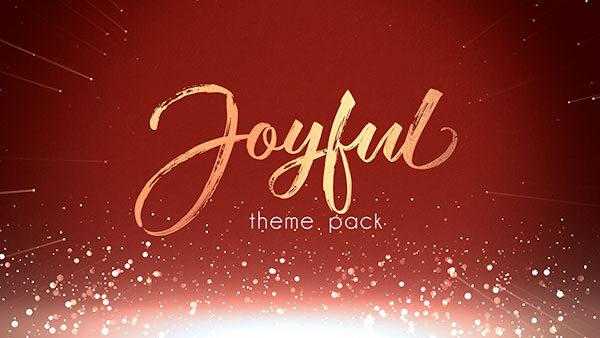 christmas church media joyful gold