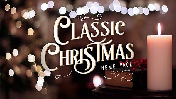 christmas church media classic