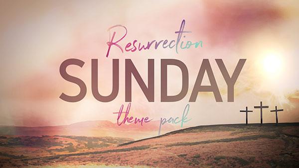 easter church media cross resurrection
