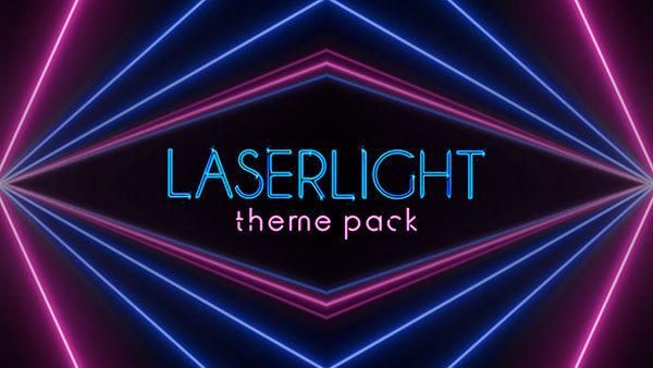 church media lasers laser light