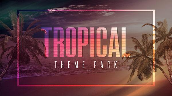 summer church media oceans tropical