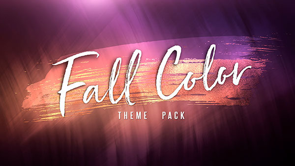church media fall color