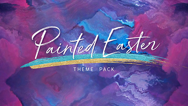 church media painted easter