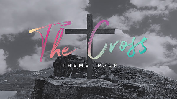 church media cross easter