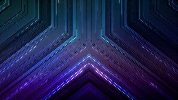 free church media lines geometric
