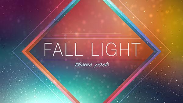 church media fall light