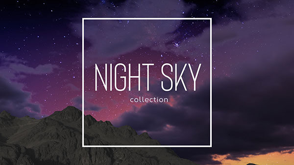 church media night sky