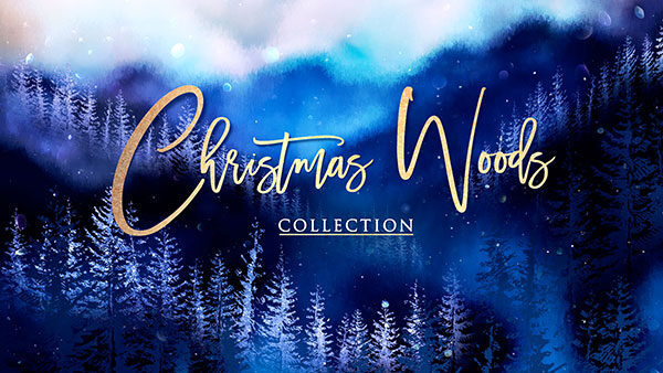 church media christmas woods